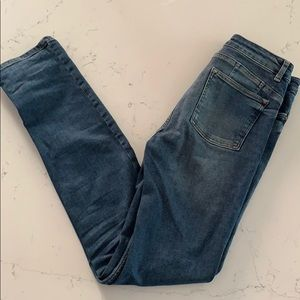 NEXT Mid Blue Relaxed Panel Jeans 10//12//14//18 RRP £32